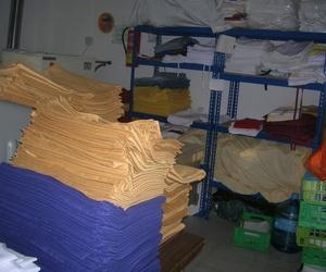 Limpiamos mantelería, toallas y sábanas o ropa de cama