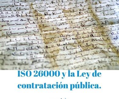 ISO 26000 y La nueva Ley de Contratación Pública.
