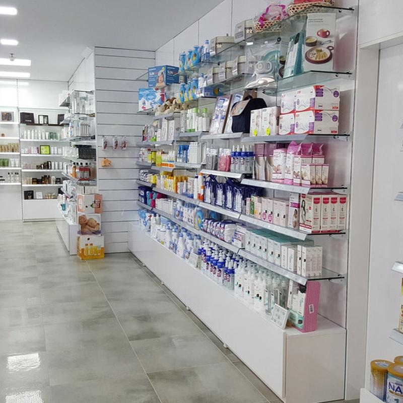 Mobiliario de Farmacia en Barcelona