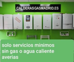 SERVICIOS MÍNIMOS DE AVERÍAS DE GAS,CALEFACCION,FONTANERIA,CLIMATIZACION