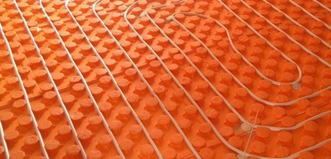 Instalación de calefacción por suelo radiante en Benidorm