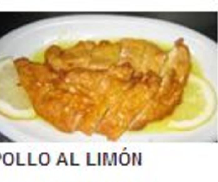 CARNES DE COMPLEMENTO:: La carta de Restaurante China I