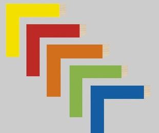 Molduras de color