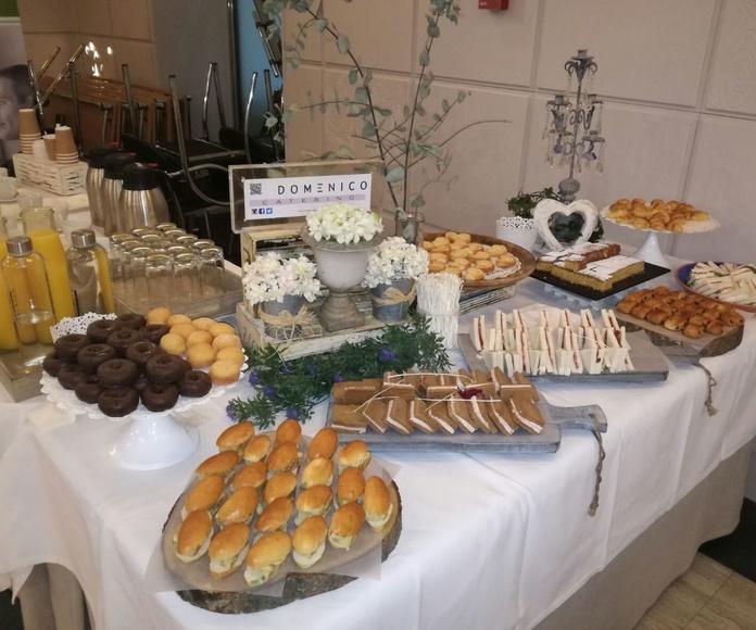 Desayuno con Catering Domenico