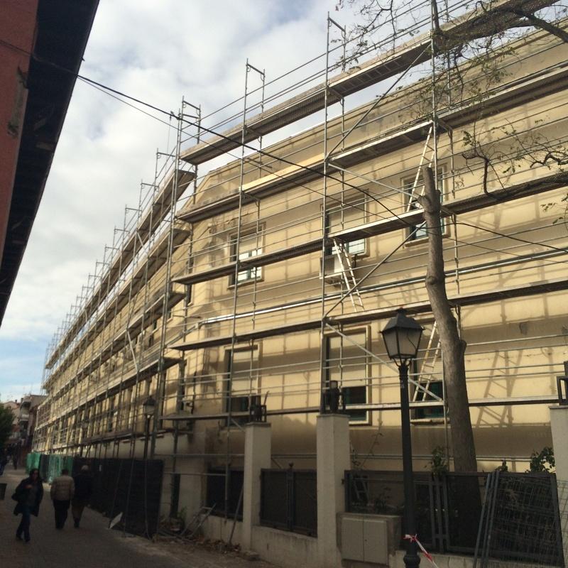 Pintura de fachadas: Servicios de reformas de Royser Gestión