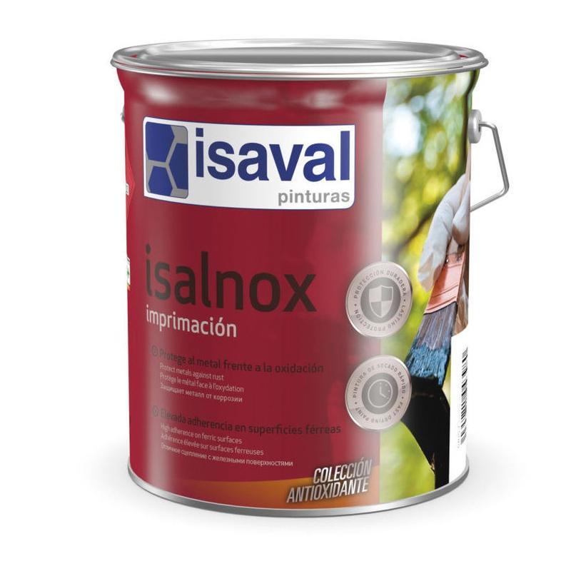 Isalnox imprimación antioxidante en tienda de pinturas en pueblo nuevo.