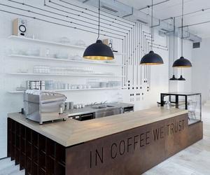 Iluminación de una cafetería