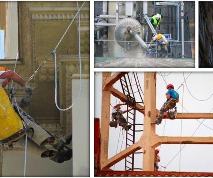 Fachadas Cantabria. Trabajos de mantenimiento en edificios de Santander-Cantabria.