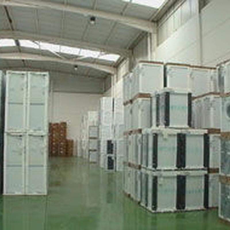 Reparto de electrodomésticos: SERVICIOS de JUCARTS DISTRIBUCION Y LOGISTICA 2002 S.L