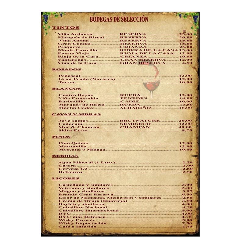 Bodega: Especialidades de Restaurante Bodegón Ciri
