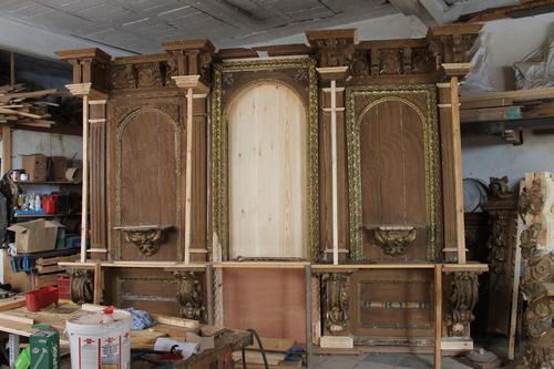 Restauración completa de retablo
