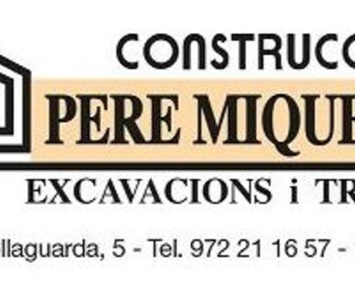 Contenedores de runa: Servicios de CONSTRUCCIONS PERE MIQUEL, S.A.