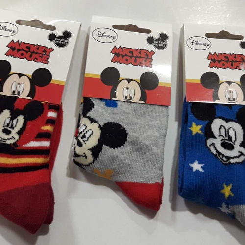 Calcetines Mickey Mouse