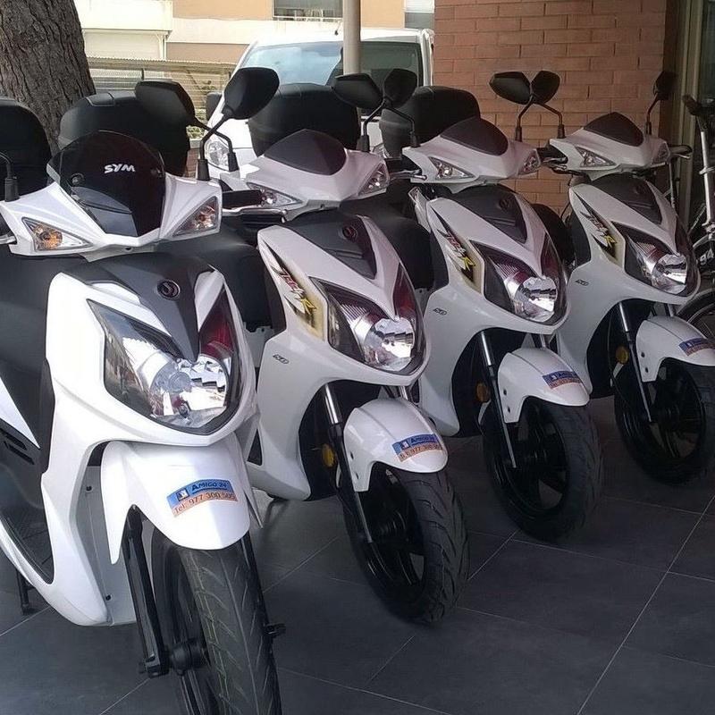 Alquiler de motos Salou