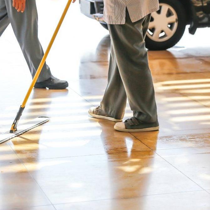 Pautas básicas para la limpieza del garaje
