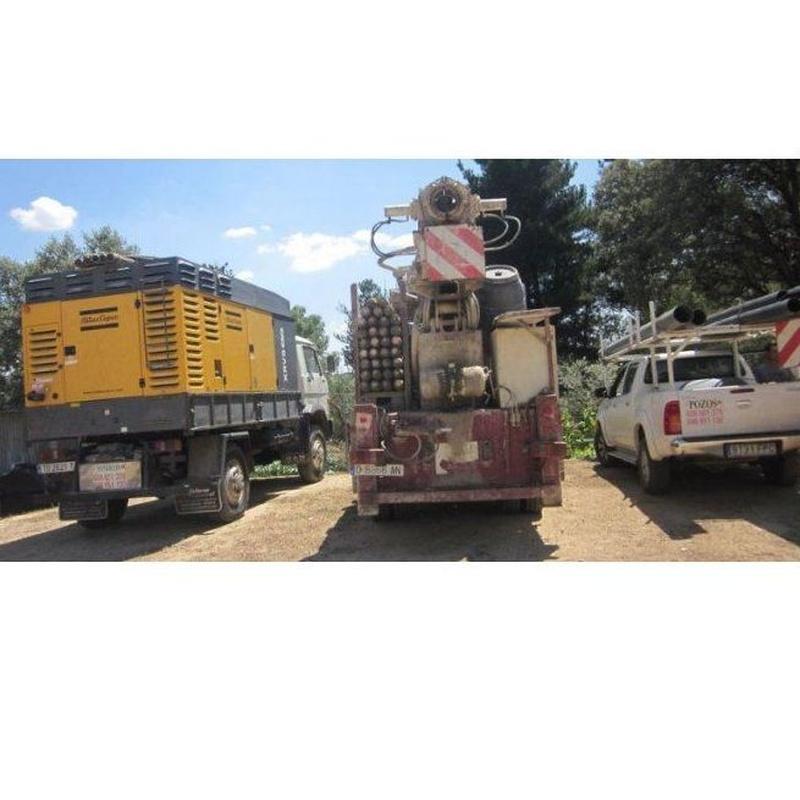 Sondeos geotécnicos: Servicios de perforación de Sondeos Seymar