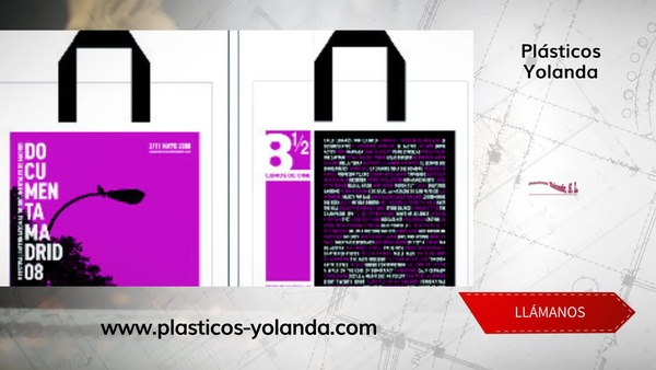Bolsas de papel en centro de Madrid - Plásticos Yolanda
