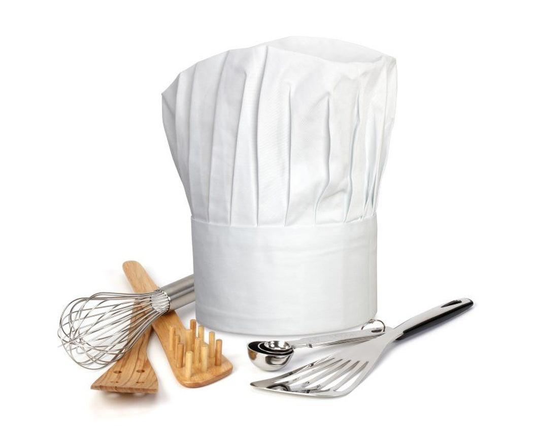 La ropa de los cocineros y sus ayudantes