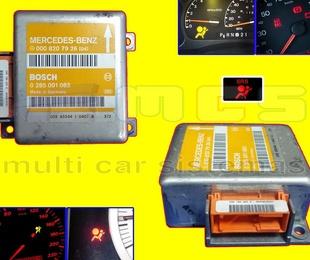 Reparación centralita AIRBAG unidad electrónica testigo cuadro instrumentos