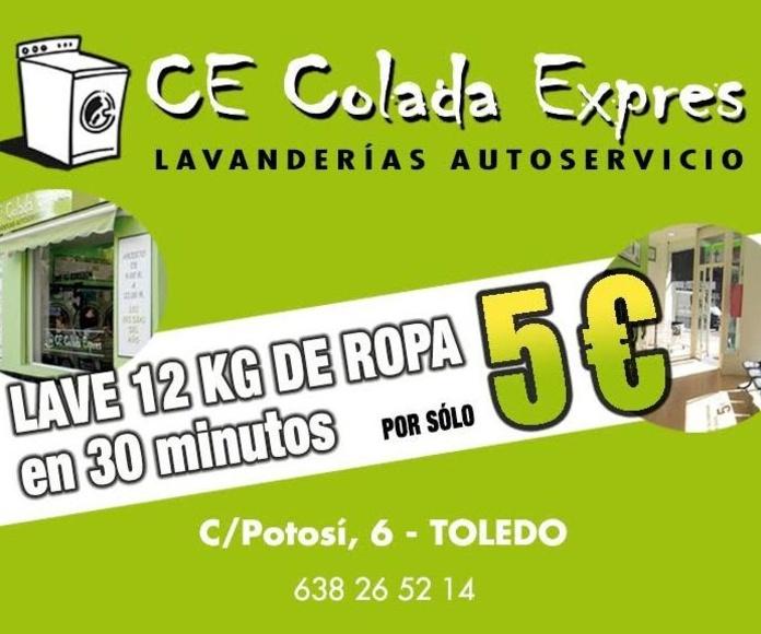 LAVANDERIA, AUTOSERVICIO COLADA EXPRES TOLEDO