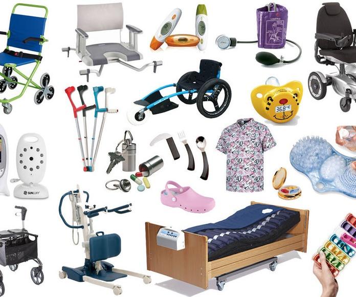 Productos de apoyo para el cuidado y la higiene personal.: SERVICIOS de EIS AILA DEPENDENCIA SL