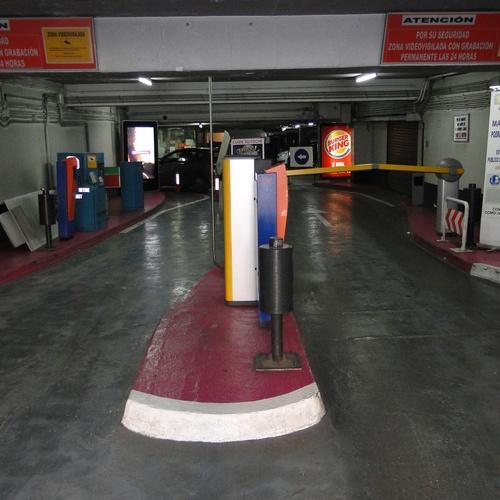 Parking Público Tudescos - Luna en Madrid Central