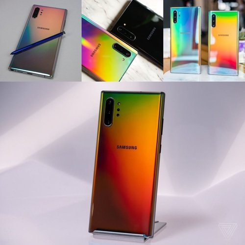 New Note 10 y 10+