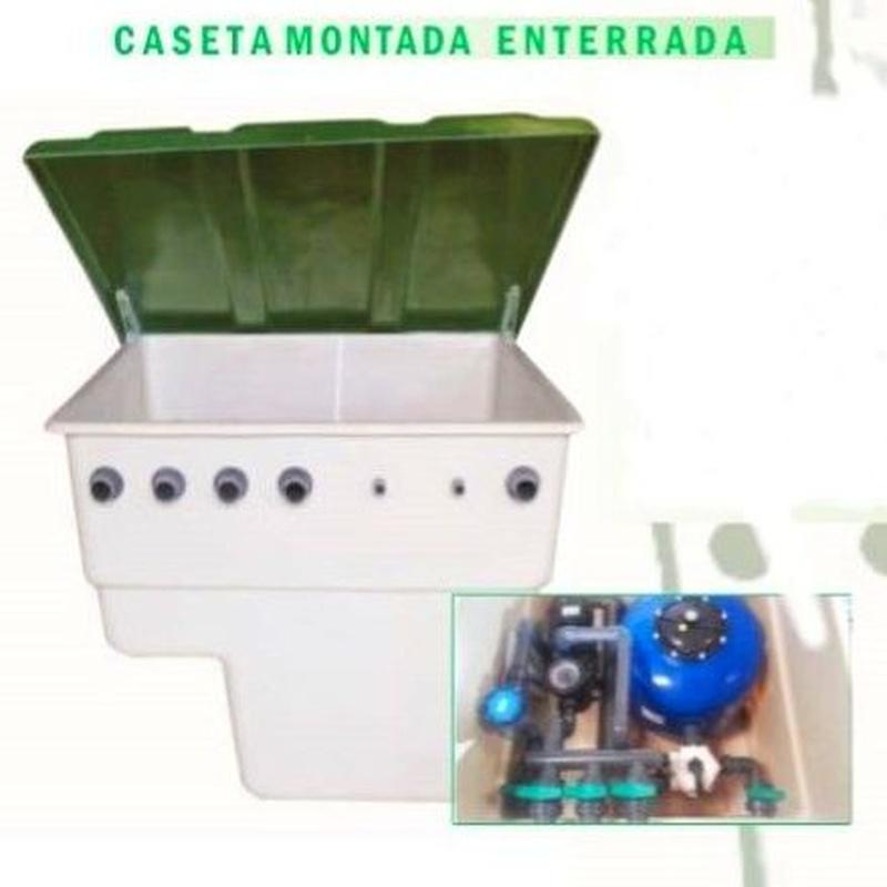 CASETA MONTADA ENTERRADA