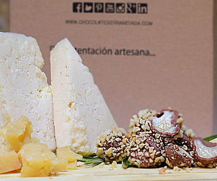 Bombones de queso en Granada