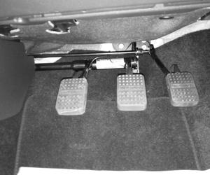 Instalación de mandos para autoescuela