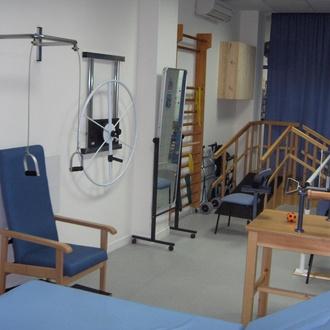 Fisioterapia en el centro de día