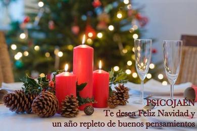 ¡ PsicoJaén te desea Feliz Navidad y próspero Año Nuevo !