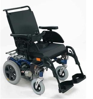 Velocidad de una silla de ruedas eléctrica