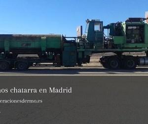 Gestión de residuos, derribos y demoliciones en Madrid | Recuperaciones Dermo
