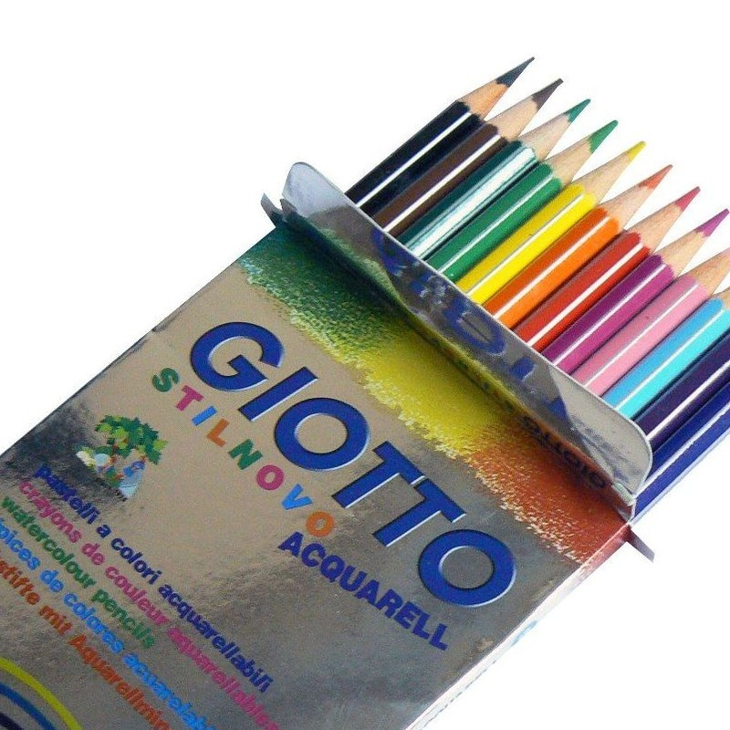 PINTURAS ACUARERABLES GIOTTO ACQUARELL. 12 COLORES