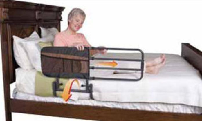 Barandilla para cama abatible y extensible PIVOT RAIL Asturias