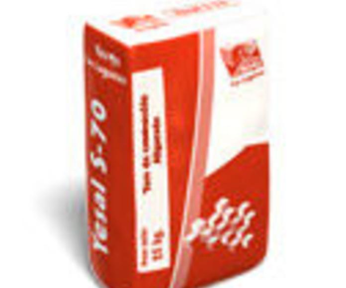 Yesal S70 / Yeso de proyección aligerado: Catálogo de Materiales de Construcción J. B.