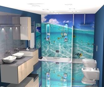 La frescura del mar en tu baño.