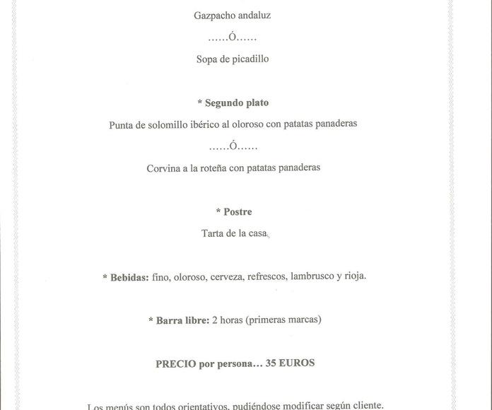 Menú #2: Catálogo de Jedal Alquileres