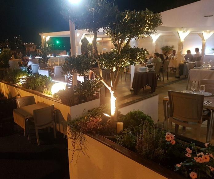 villa Kanela terraza para eventos