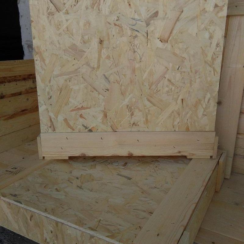 Cajas de tablero OSB: Productos de Envases y Embalajes Anem