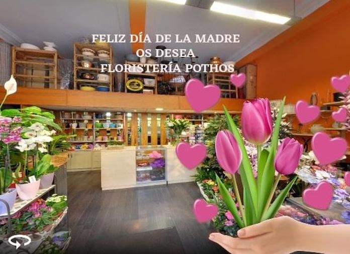 Flores para el Día de la Madre.
