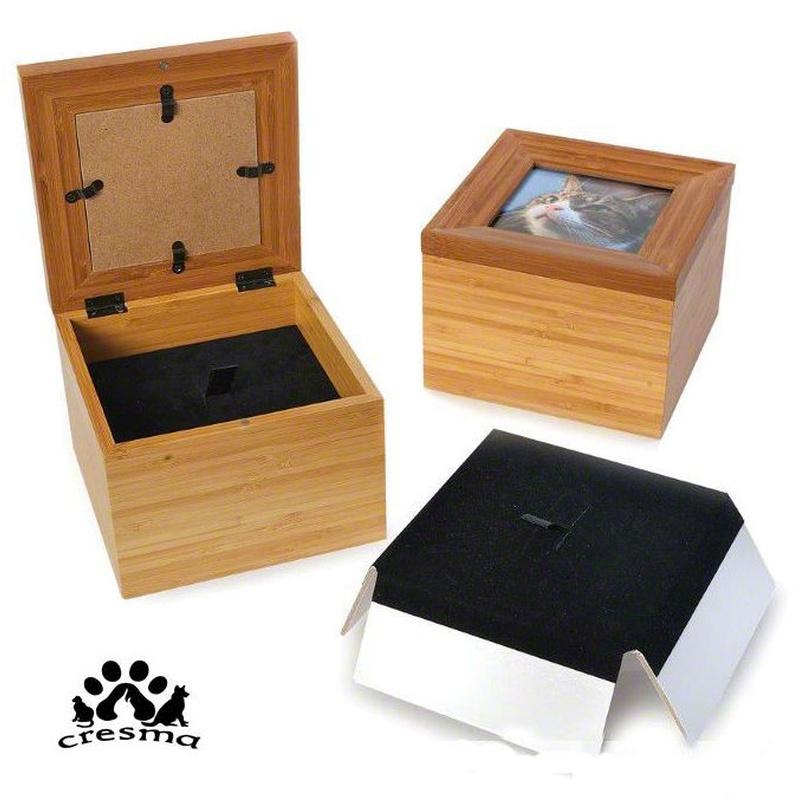 Urna caja tributo bambu: Productos e instalaciones de Cresma