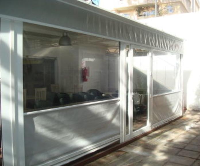 Reforma restaurantes: Catálogo de Aluminios Aludecor Marbella