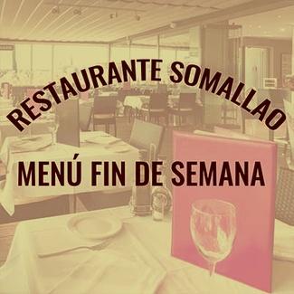 Restaurante Somallao Rivas, Menú Especial Sábado 26 de Septiembre de 2020
