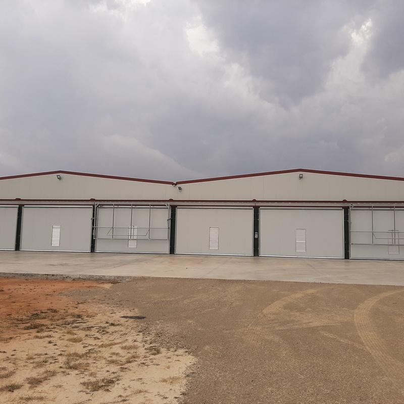 Salas de cultivo de champiñón en Ledaña: Servicios de Servicios Inoxidables Albacete
