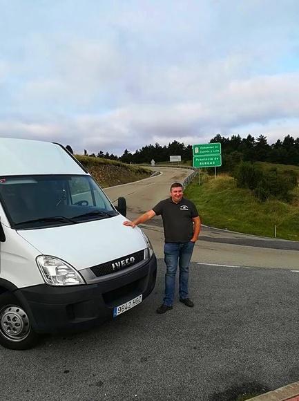 Viajando a Bilbao...