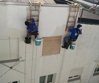 Trabajos verticales: Servicios de Fachadas Arlberg
