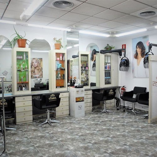 Interior de nuestra peluquería en Zaragoza
