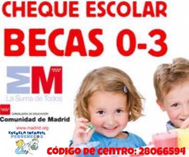 ¡¡¡BECAS EDUCACIÓN INFANTIL 2021-2022!!!